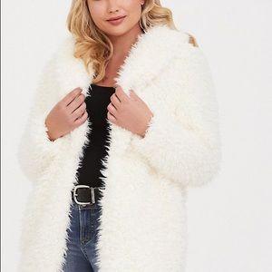 Torrid Faux Fur Jacket
